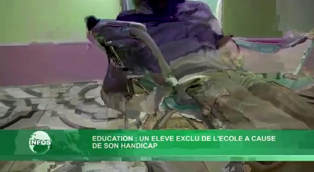 Rejet d'un enfant à infirmité cérébrale dans une école